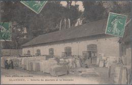 Glandieu , Scierie De Marbre Et La Cascade , Craquelure Coin Haut Gauche , Animée - Francia