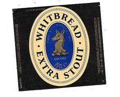 ETIQUETTE BIERE WHITBREAD - Cerveza