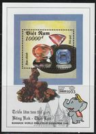 VIETNAM - BLOC N°80 ** (1993) Minéraux - Minerals