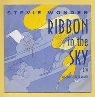 Disque Vinyle 45 Tours : STEVIE WONDER :  RIBBON In The SKY..Scan B : Voir 2 Scans - Vinyl Records