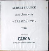 CERES - Jeu PRESIDENCE/FRANCE 2008 (REF. PF2008) - Alben & Binder