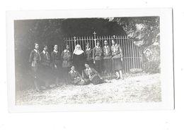 MONTFERRAND LE CHATEAU (25) Photographie Couvent De Béthanie Scoutisme Groupe De Filles Scouts 1930 - Otros Municipios