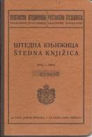 Document DO000208 - Bank Book Yugoslavia Serbia 1937 - Documenti Storici