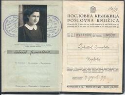 Document DO000211 - Work Book Jasa Tomic Serbia Yugoslavia 1939 - Documenti Storici