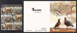 Bosnia And Herzegovina 2020 Europa CEPT Ancient Postal Routes Carrier Pigeon Fauna Istanbul Turkey, Booklet MNH - Bosnia Erzegovina