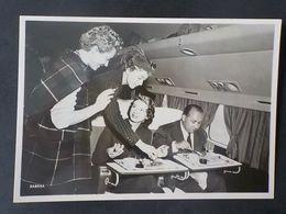 Aviation Sabena CP Repas à Bord Cigarette Dans Avion - Publicités