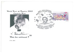 COV 80 - 1570 EINSTEIN Year, Iasi, Romania - Cover - Used - 2005 - Albert Einstein