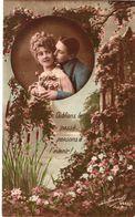 """EDITION : La Favorite .Couple , """" Oublions Le Passé Pensons à L'avenir """" .1912 - Tarjetas De Fantasía"""