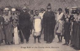 1891/ Grege Bush Or The County Devils, Monrovia, Zwarte Dames, Blote Borsten - Liberia
