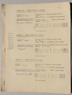 Vente Coupes De Bois 1969, Damblain, Dombrot-le-Sec, Martigny-les-Bains, Robecourt...(Vosges) - Sammlungen