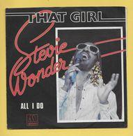 Disque Vinyle 45 Tours : STEVIE WONDER :  THAT GIRL..Scan C : Voir 2 Scans - Collectors