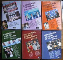 Modern Chess Inside View 2014 2019  Set Of 6 Books Materials From 64-Chess Rev - Libri, Riviste, Fumetti
