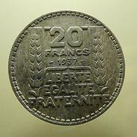 France 20 Francs 1937 Silver - France