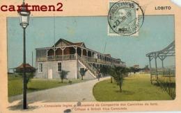LOBITO CONSULADO INGLEZ ANGOLA BENGUELA PORTUGAL SURCHARGE STAMP TIMBRE LUIZ MARIO S. DA MATTA CACHET SELLO POSTAL - Angola