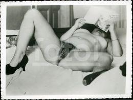 NUDISME EROTICA SEX EROTIC NUDE WOMAN  NACKT FEMME FRAU NU NAKED EROTIQUE NUE EROTIK SEXY PHOTO FOTO NK388 - Belleza Feminina (1941-1960)