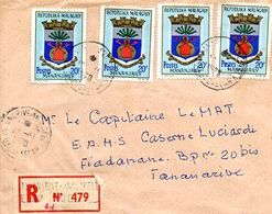 C10   1970 Lettre En Recommandée - Madagaskar (1960-...)