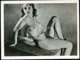 OLD EROTICA SEX EROTIC NUDE WOMAN  NACKT FEMME FRAU NU NAKED EROTIQUE NUE EROTIK SEXY PHOTO FOTO NK390 - Belleza Feminina (1941-1960)