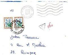 C10   1971 Lettre Taxée - Postage Due