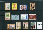 Bosnien Und Herzegowina Kroatische Post / Croatian Post Office 2000 Kompletten Jahrgang / Complete Year Postfrisch / UM - Bosnien-Herzegowina