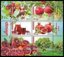 Kyrgyzstan 2020 Flora. Pomegranate. - Kyrgyzstan
