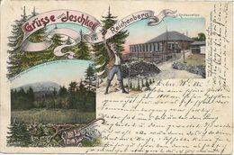 1900/05 - LIBEREC  Reichenberg  JESTED Jeschken , Gute Zustand, 2 Scan - Czech Republic