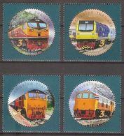 THAILAND 2017 - State Railway, Locomotives - Set MNH - Thailand