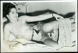 OLD EROTICA SEX EROTIC NUDE WOMAN  NACKT FEMME FRAU NU NAKED EROTIQUE NUE EROTIK SEXY PHOTO FOTO NK401 - Belleza Feminina (1941-1960)