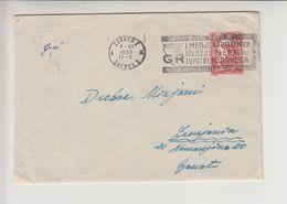 "Croatia FLAM Zagreb - Ljubljana Slovenia ""POSJETITE MEDJUNARODNU..."" 1955 Nice Cancelation (fl490) - 1945-1992 République Fédérative Populaire De Yougoslavie"