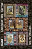 Blok 240** Bedreigde Diersoorten 4616/20** Espèces Animales Menacées - Dieren In Het Nauw / Animaux En Danger! - Belgium