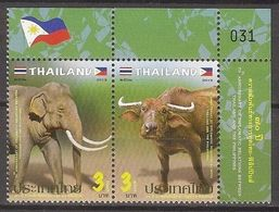 THAILAND 2019 - Relations With Philippines - Set MNH - Thailand