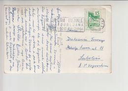 "Slovenia FLAM ""III BALETNI BIENALE LJUBLJANA..."" 1964 Nice Cancelation (fl497) - 1945-1992 Repubblica Socialista Federale Di Jugoslavia"