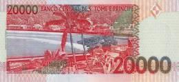 SAO TOME E PRINCIPE P. 67a 20000 D 1996 UNC - Sao Tomé Et Principe