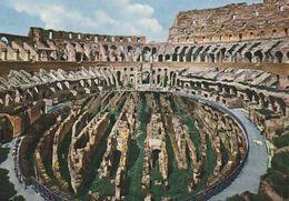 Tarjeta Postal. Italia. Roma. El Coliseo Y Las Nuevas Excavaciones. Condición Media. - Monuments