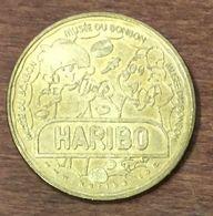 30 UZÈS BONBON HARIBO N°4 HARIBOY ET L'OURSON MEDAILLE TOURISTIQUE MONNAIE DE PARIS 2009 JETON MEDALS COINS TOKENS - Monnaie De Paris