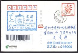 CHINA ChangZhi To NingBo COVID-19 PMK:All Of One Heart To Fight Epidemic, Stay Strong WuHan - Enfermedades