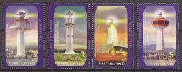 THAILAND 2019 - Lighthouses - Set MNH - Thailand