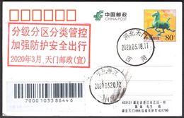 CHINA TianMen To QianJiang COVID-19 PMK:Classified Management, Safe Travel - Enfermedades