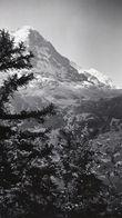 Montagne Photographie Originale SWITZERLAND Suisse Berne Eiger Mönck Jungfrau Juillet 1948 Original Photography Moutain - Lieux