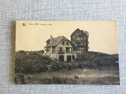 DE HAAN 1929  COQ S/MER  GROUPE DE VILLAS - De Haan