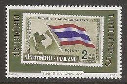 THAILAND 2019 - National Day, Stamp, Flag - MNH - Thailand