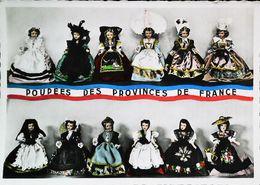 CPSM   Poupée Doll   Provinces De France - Carte Postale Card - Poupées