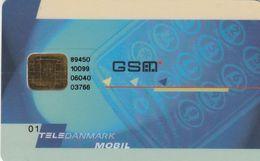 Denmark, DK-TDK-GSM-?TeleDanmark Mobil, GSM / SIM With Chip, 2 Scans - Dänemark