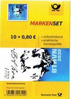 Deutschland Markenset - Beethoven Mi. 3520 - Folienblatt Ohne Marken - [7] Federal Republic