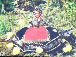 CPSM   Poupée Doll   Savoie 1960 - Carte Postale Card - Poupées