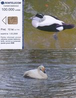 ROMANIA - Bird, Chip CHT05, Exp.date 01/03/09, Sample(no CN) - Roumanie