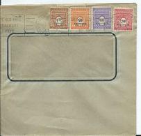 FRANCE - Lettre Au Départ De PARIS - Affranchissement ARC DE TRIOMPHE -1947 - Marcofilia (sobres)