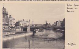 AK Wien - Donaukanal Mit Urania - 1935 (51195) - Wien Mitte