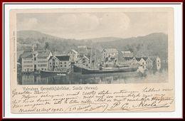 ★★ VALVATNES HERMETIKFABRIKKER, SUNDE, (NORWAY) 1905 ★★ FISH FACTORY NORWAY ★★ - Norvège