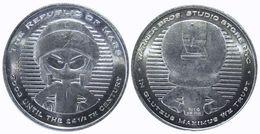 00648 GETTONE TOKEN JETON GADGET Marvin The Martian The Republic Of Mars Coin Warner Brothers Studio Store - Non Classés