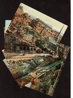 6 Cartes Illustrées Par N. Béraud - Raphael Tuck & SOns  Oilette Serie Luxembourg N° 737 - 4 Scans - Cartes Postales